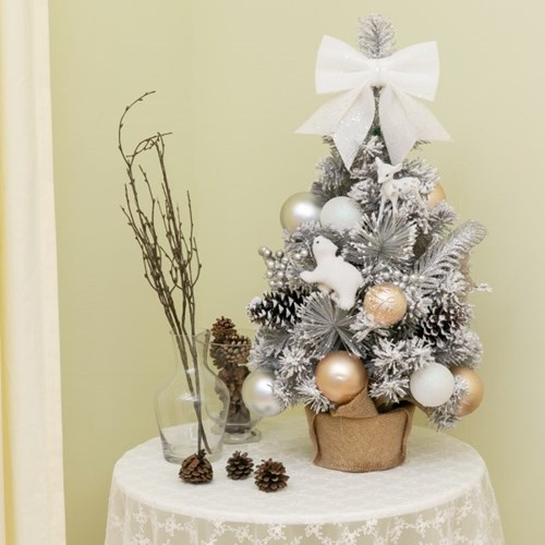 133 크리스마스 파인 스노우 미니 트리 풀세트_(2183055)