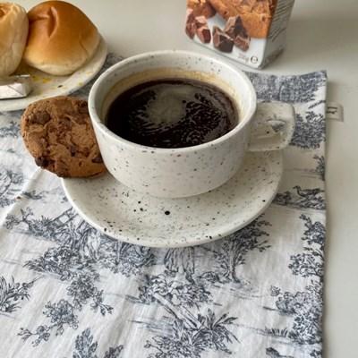 블랙도트 커피잔 세트