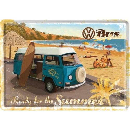 노스텔직아트[10172] VW Bulli - Ready for the Summer