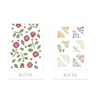 [KITTA seal] 포켓형 데코 스티커_KITD015 FLOWER