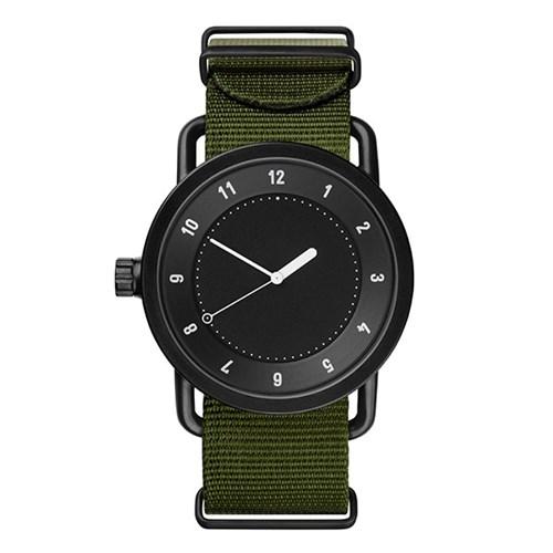 TID 티아이디 No.1 Black / Green Nylon Wristband 공용_(1244626)