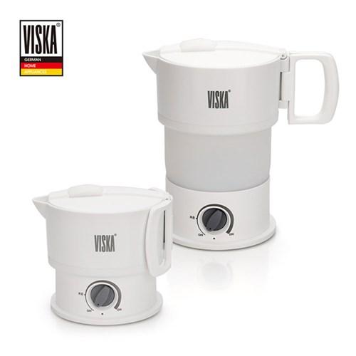비스카 MY KITCHEN 실리콘 접이식 무선 전기포트  VK-SK100DV