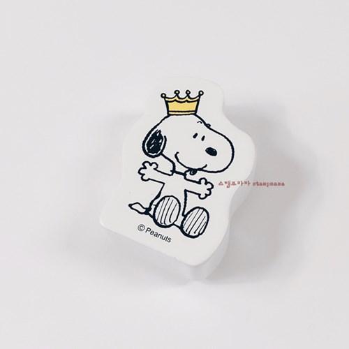 [스누피 스탬프] Crown Snoopy