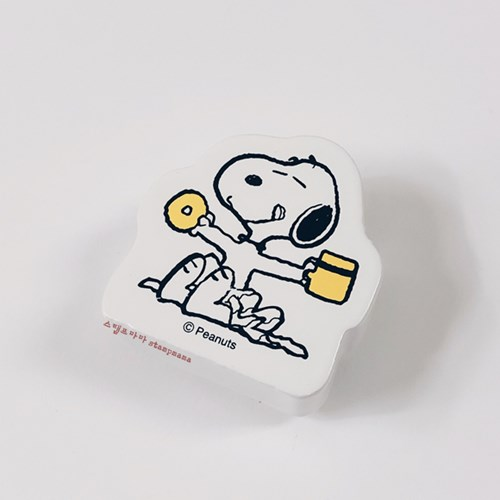 [스누피 스탬프] Snoopy Donut & Coffee