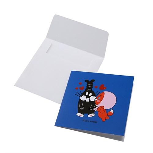 [피터젠슨] 사각 카드 POX61YA02M_BU_(1398064)