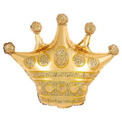 [원팩] 생일은박풍선 왕관 골드 76x73cm_(11894060)