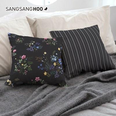 방꾸미기 침대쿠션 집들이 45x45cm 꽃잎 네로가든_(1406758)