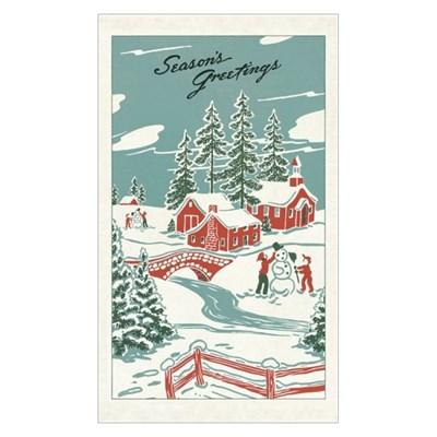 카발리니 빈티지 티타올-크리스마스 원더랜드