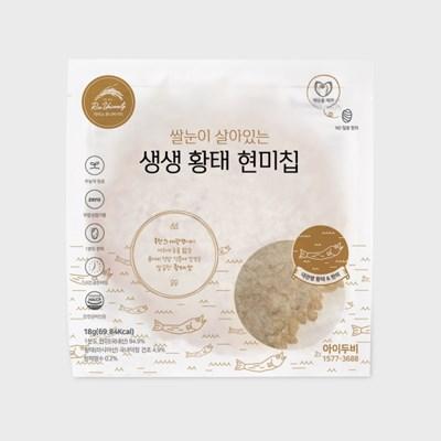 아이두비 1분도정 생생 황태 누룽지칩 (10개)