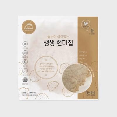 아이두비 1분도정 생생 현미 누룽지칩 (10개)
