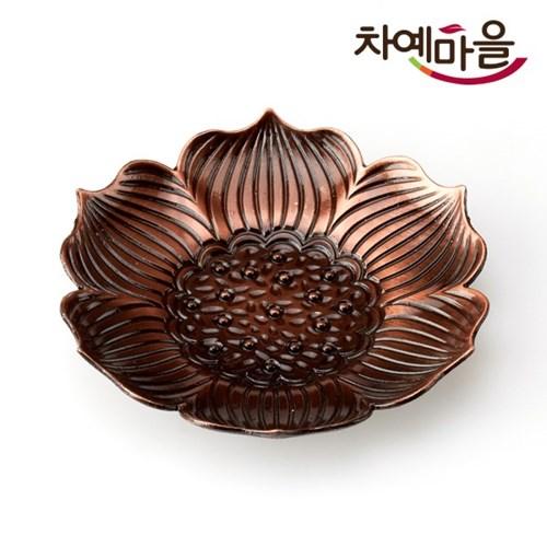 홍동 찻잔받침 연꽃_(11526303)