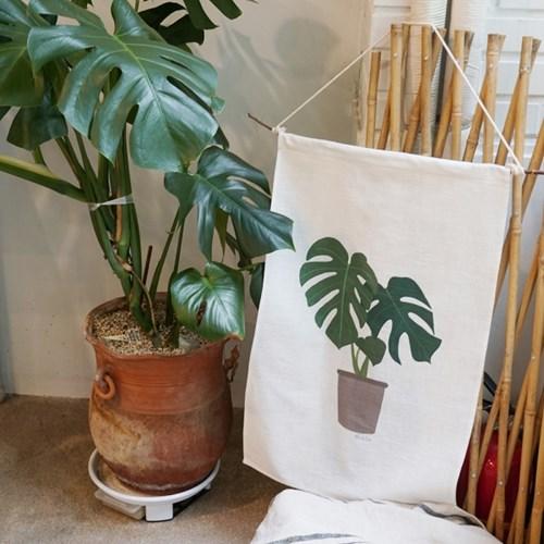 식물 패브릭포스터