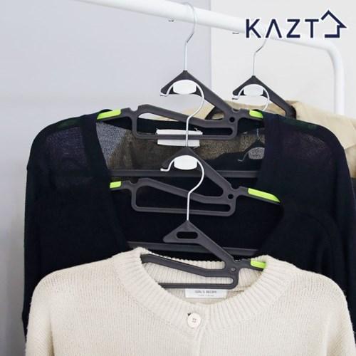 회전고리논슬립옷걸이10개+연결고리5개