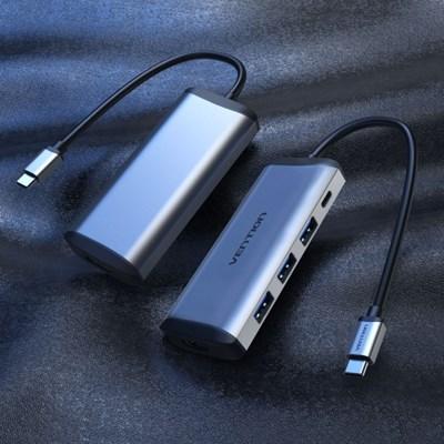 벤션 C타입 멀티포트 USB 고속 허브 HDMI 컨버터