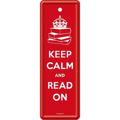 노스텔직아트[45044] Keep Calm and Read On