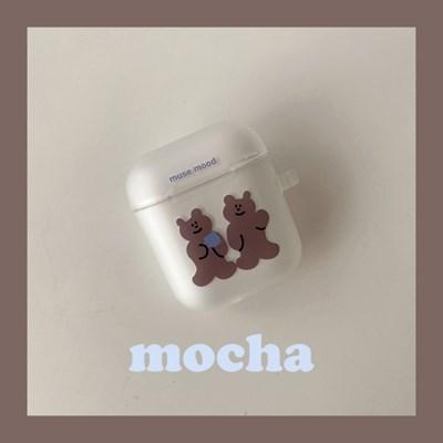 [뮤즈무드] mocha airpods case (에어팟케이스)
