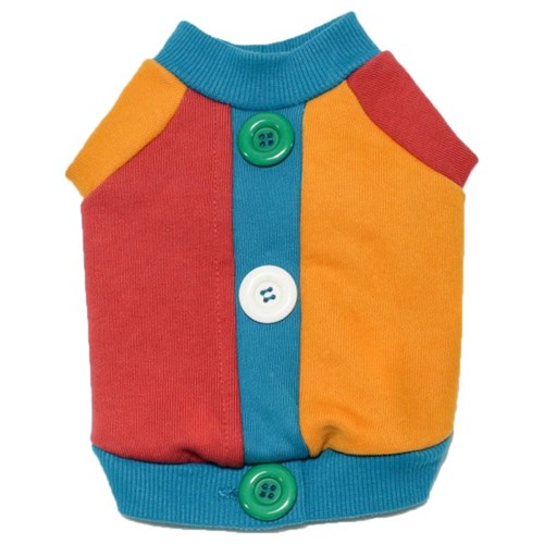 에덴숑-Button sweat shirt(버튼스웻셔츠-블루그린)
