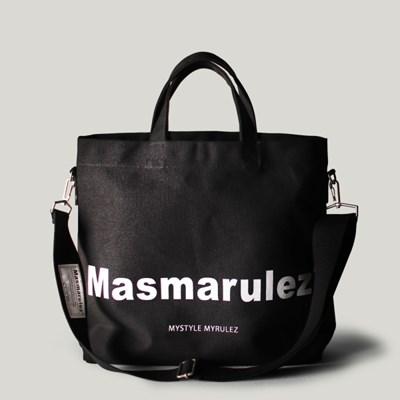 Basic cotton cross bag _ Black
