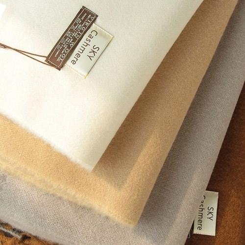 버진울 100% 캐시미어 목도리 wool 100% muffler 머플러 (8color)
