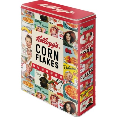 노스텔직아트[30330] Kelloggs - Corn Flakes Collage