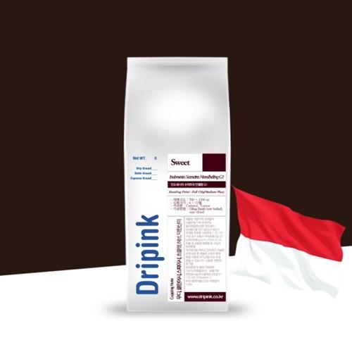 드립핑크 인도네시아 만델링 G1 원두커피 1kg / 주문 후_(46442)