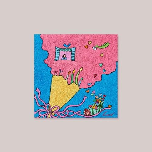캘리엠 축복의 선물3 XKSO 캘리그라피 크리스마스카드