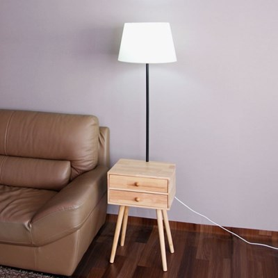 boaz 브릿지 협탁 장스탠드 LED 카페 인테리어 조명