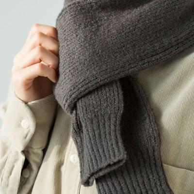 knit mini muffler (3 colors)