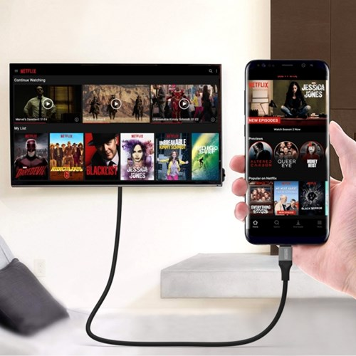 드로우N C타입 넷플릭스 HDMI 노트북 미러링 케이블 4K