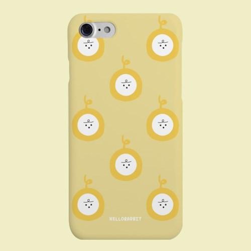 [헬로래빗]퐁레토비 옐로우 하드 핸드폰케이스