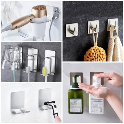 무타공 주방 욕실 정리용품 21종