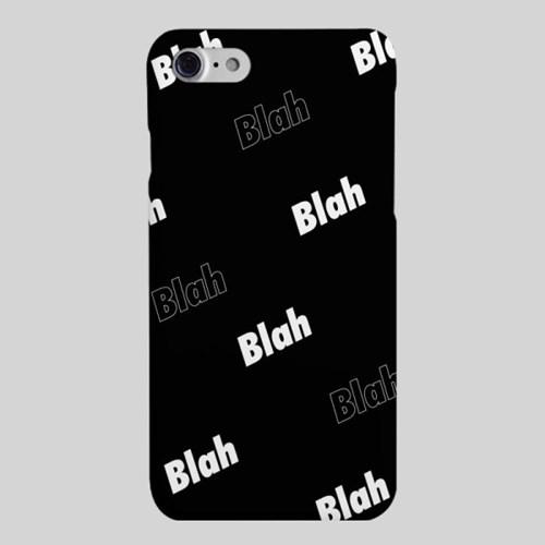 [헬로래빗]블라블라 블랙 하드 핸드폰 케이스