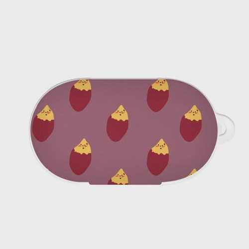 sweet potato 패턴 갤럭시 버즈케이스
