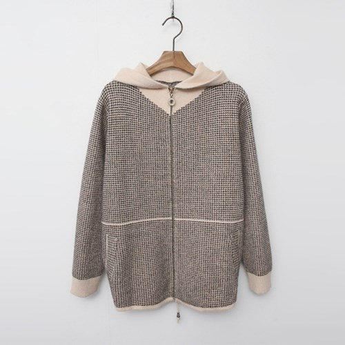 Wool Hood Smallow Warm Knit Jumper