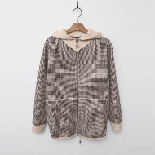 Wool Hood Smallow Warm Knit Jumper