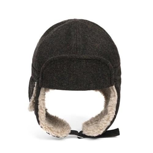 HBT WOOL TRAPPER HAT (brown)