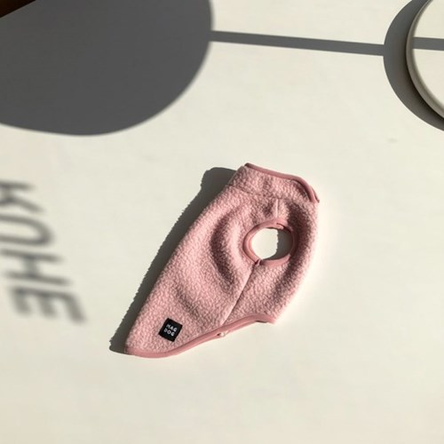 [T.후리스민소매]Fleese sleeveless_Pink