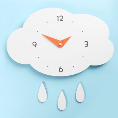 (ktk146)저소음 구름과비 벽시계_(52200)