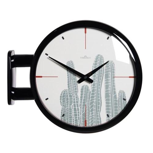 (ktk142)심플 블랙양면시계 (선인장)_(52195)