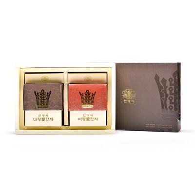 해피하우스 신라 전통 왕실 전통차 천명차 20포 동살 선물세트
