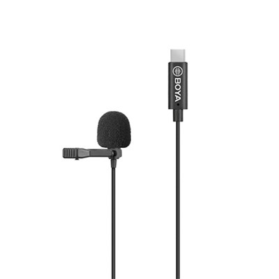 보야 BY-M3 (USB Type-C) Digital Lavalier Microphone 마이크