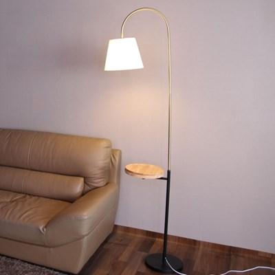 boaz 브론즈 협탁 장스탠드 LED 카페 홈 인테리어 조명
