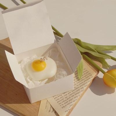 달걀 프라이 캔들 (인테리어 디자인 필라 캔들)