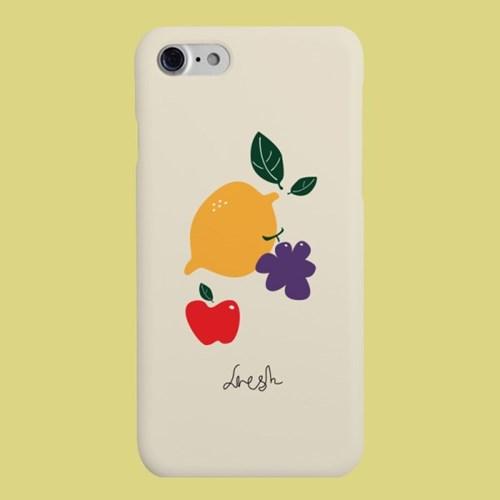 [헬로래빗]프레쉬 옐로우 하드 핸드폰 케이스