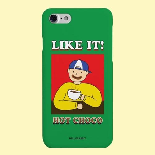[헬로래빗]핫초코 하드 핸드폰 케이스