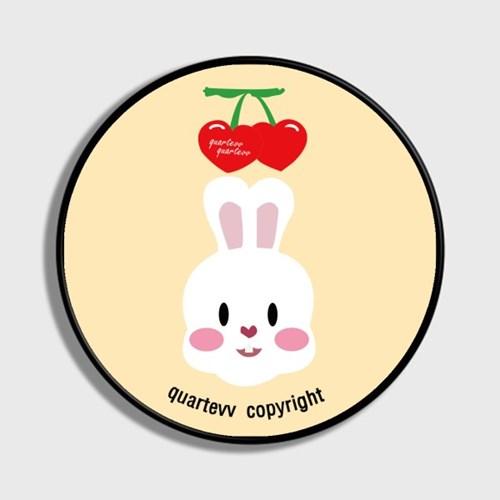 Cherry rabbit - ivory(스마트톡)
