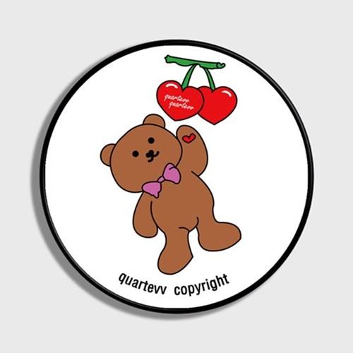 Cherry Bear - White(스마트톡)