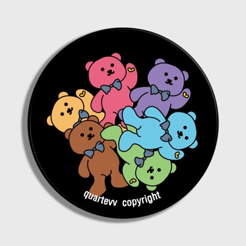 Color bear - Black(스마트톡)