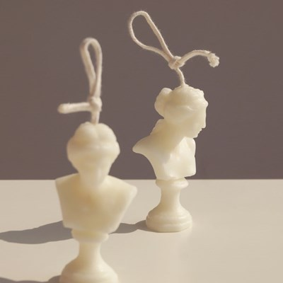 비너스 조각상 캔들