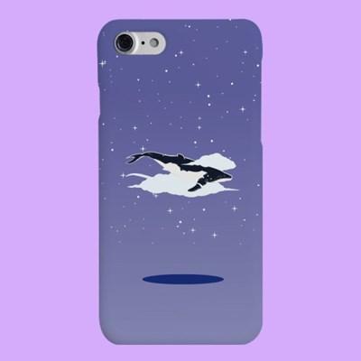 [헬로래빗] 고래의꿈 퍼플 하드 핸드폰 케이스